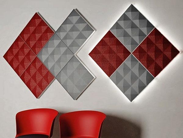 акустические панели как способ отделки стен