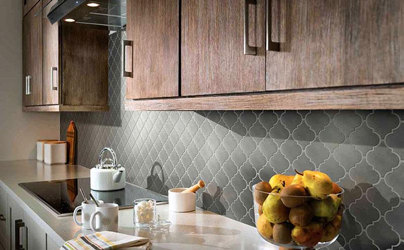 керамический кухонный фартук